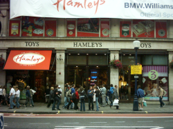 Hamleys, one of the world's largest toy shops.